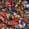 Bild 163: Phantasie der Gesichter (Öl)