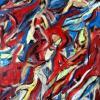 Bild 150: Venezia Karneval 70x50 (Acryl Lack)