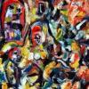 Cuadro 53: Frau im Bild 50x70 (óleo)