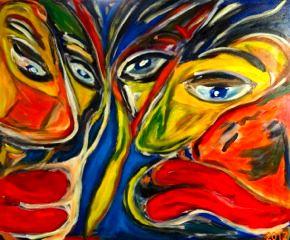 Henri Philippe: Gesichter - Faces - Caras