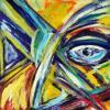 Bild 46: Blick durch Kreuz 50x70 (Öl)