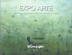 Art exhibition in the Corte Inglés in Mijas - 27th September to 25th October 2013
